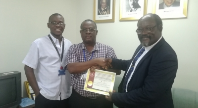 Department of Parasitology gets 2 STAR SLIPTA Laboratory Recognition
