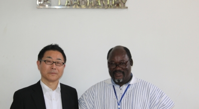Senior Vice President of JICA Visits NMIMR