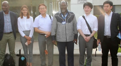 Japan's Public/Private Delegation visits NMIMR