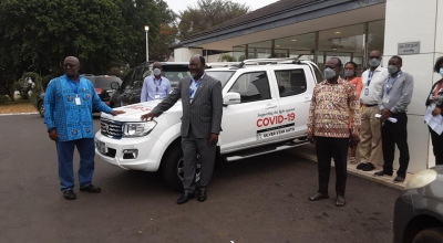 GoG Supports NMIMR with an Official Vehicle