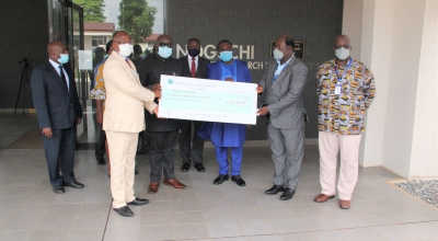 Ghana Missions Abroad Donates $100,000 to Noguchi
